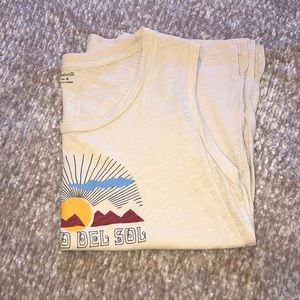 Madewell Tops - Madewell Camino del Sol Muscle Tank Top